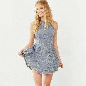 Urban Outfitters Kimchi Blue Lace Skater Dress | S